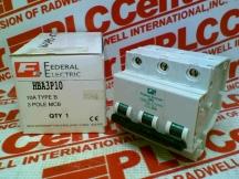 FEDERAL ELECTRIC HBA3P10