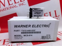 WARNER ELECTRIC MCS-814
