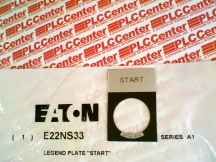 EATON CORPORATION E22NS33