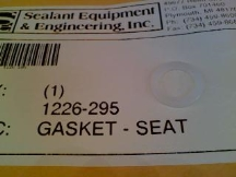 SEALANT EQUIPMENT 1226-295