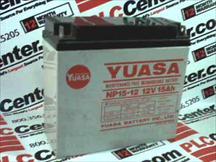 YUASA NP15-12