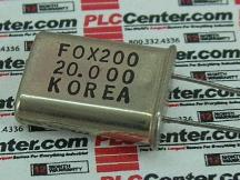 FOX 2000MHZHC49