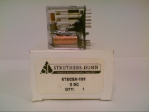 STRUTHERS DUNN RELAYS 67SCSX-191-120VAC