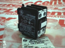 GENERAL ELECTRIC CR7XR20
