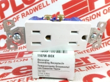 COOPER WIRING DEVICES 1107W-BOX