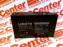 UNIVERSAL POWER UB670