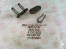 RENOLD CHAIN 06B-1RLEZCL26