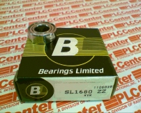 BEARINGS LIMITED SL1680-ZZ