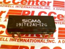 SIGMA RELAYS 191TE2A1-12G