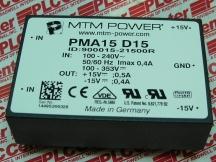 MTM POWER PMA15D15