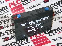 NATIONAL BATTERY C18D