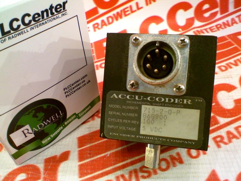 ACCU CODER 715-2-0100-1-P-O-S-6-S-S-N