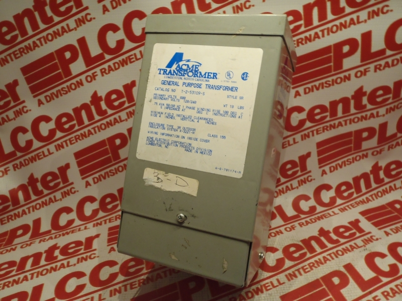 ACME ELECTRIC T-2-53109-S