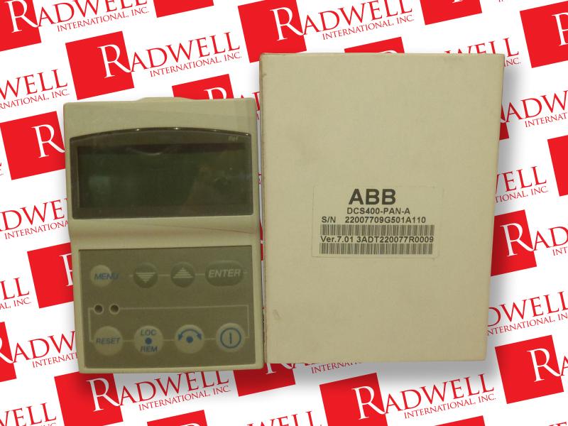 ABB DCS400-PAN