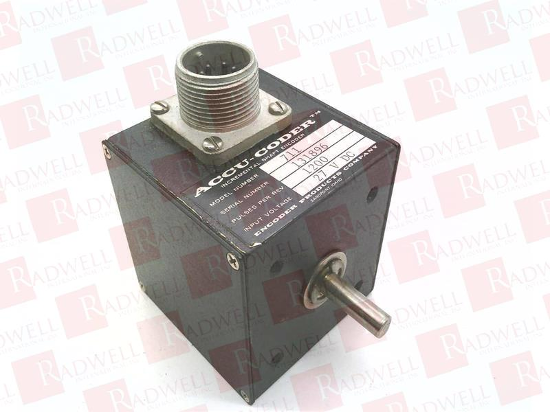 ENCODER PRODUCTS 711-1200-S-S-4-S-S-N 1