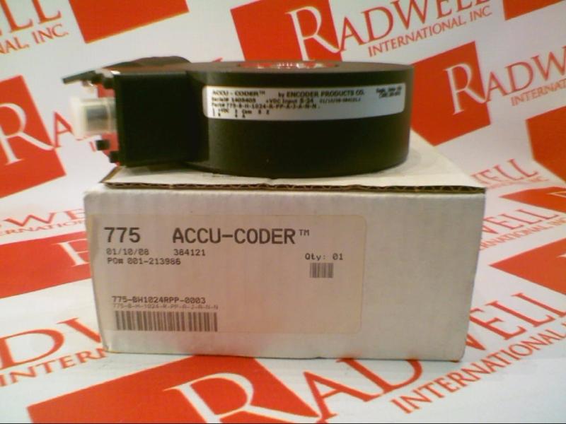 ACCU CODER 775-B-H-1024-R-PP-A-J-A-N-N