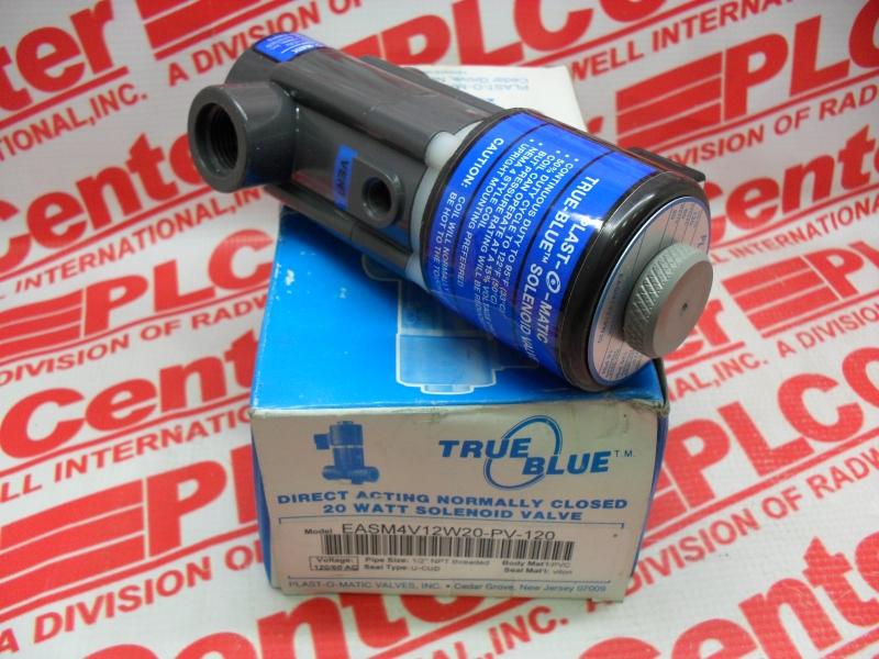 PLASTOMATIC VALVES EASMT4V12W20-PV-120