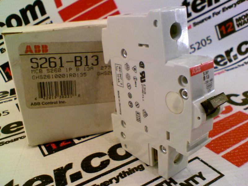 ABB S261-B13