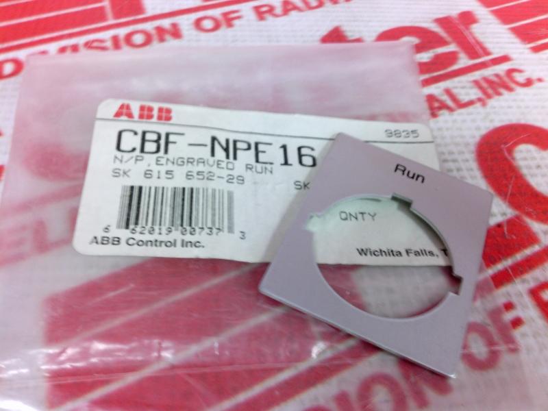 ABB CBF-NPE16