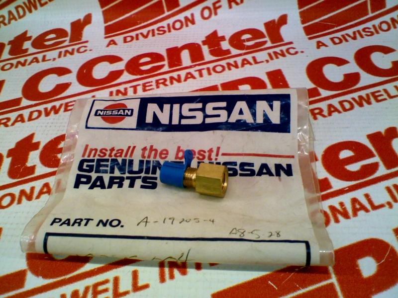 NISSAN 19205-004