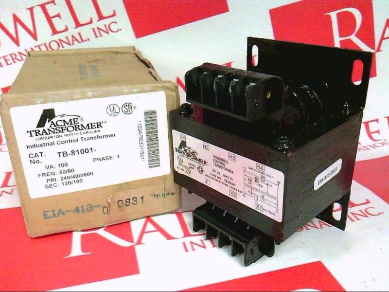 ACME ELECTRIC TB-81001