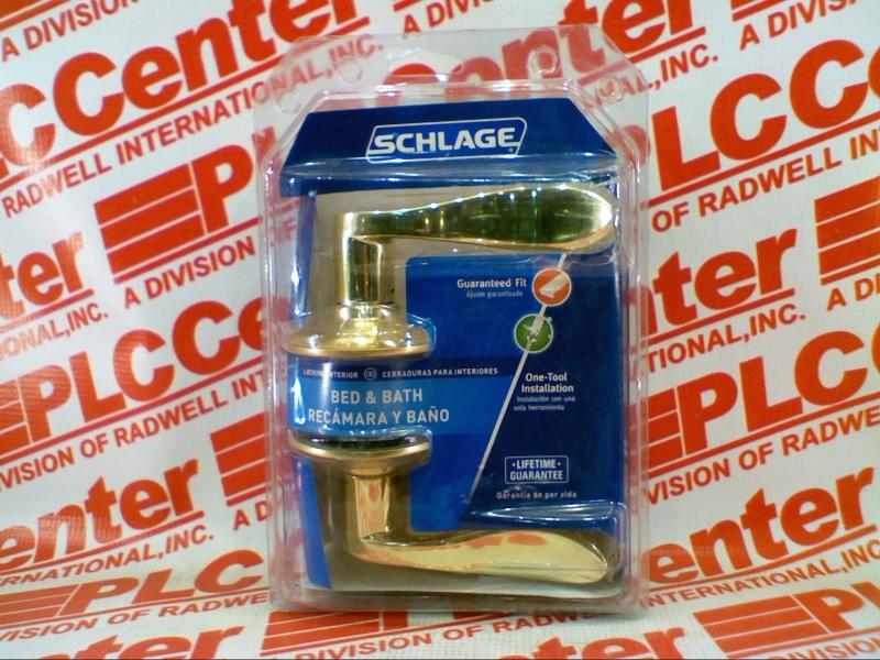 SCHLAGE LOCK F10-ACC-605-PB