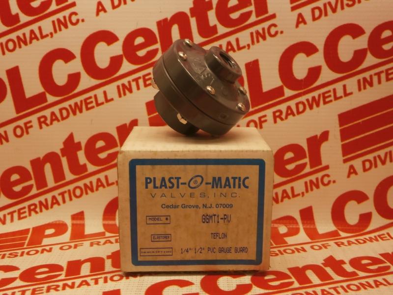 PLASTOMATIC VALVES GGMT1-PV