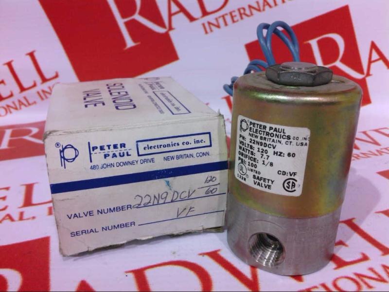 PETER PAUL ELECTRONICS 22N9DCV
