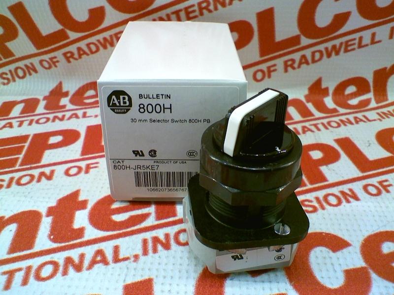 ALLEN BRADLEY 800H-JR5KE7