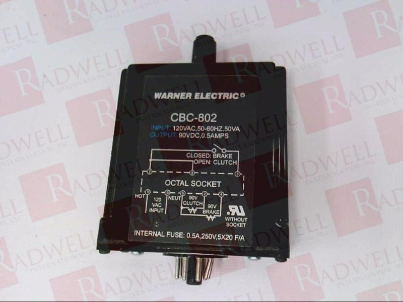 WARNER ELECTRIC CBC-802