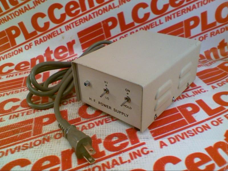 HF CONTROLS 92-A-92-B