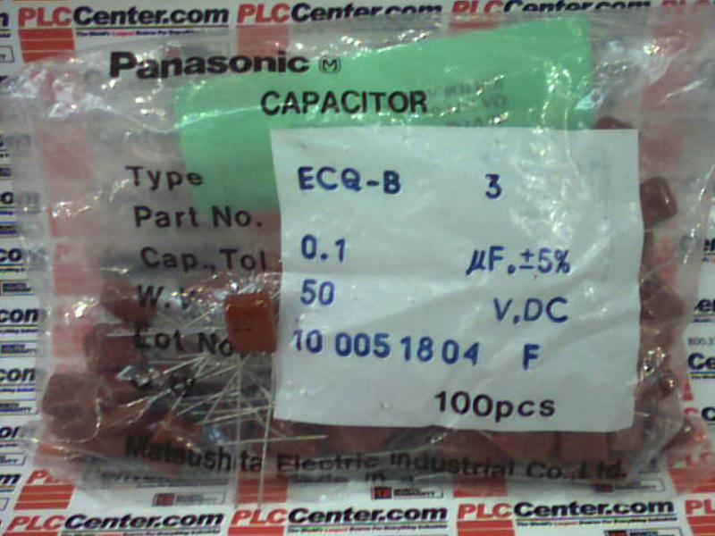 MATSUSHITA ELECTRIC ECQ-B1H104JF