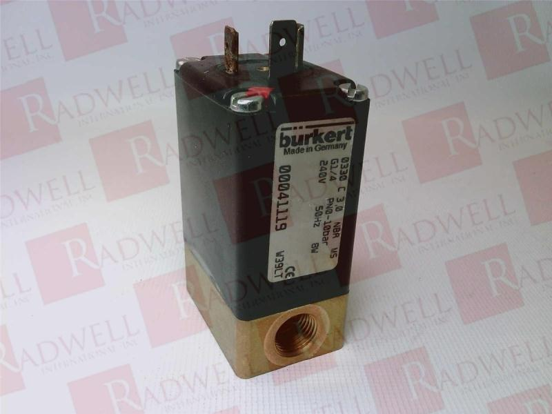 BURKERT EASY FLUID CONTROL SYS 41119