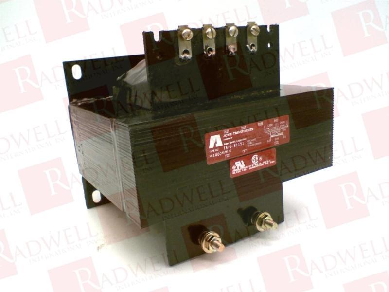 ACME ELECTRIC TA-1-81151