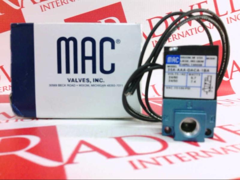 MAC VALVES INC 35A-AAA-DACA-1BA