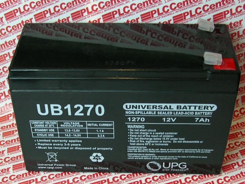 BB BATTERY UB1270