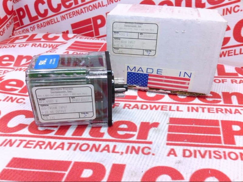 ABSOLUTE PROCESS INSTRUMENTS API-4003-G-115V