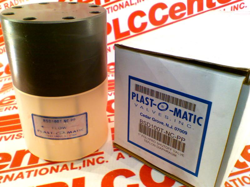 PLASTOMATIC BSD100T-NC-PP