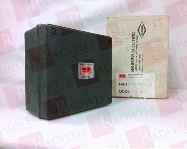 WARNER ELECTRIC MCS-160