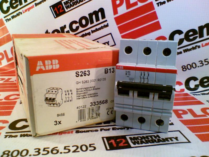 ABB S263-B13