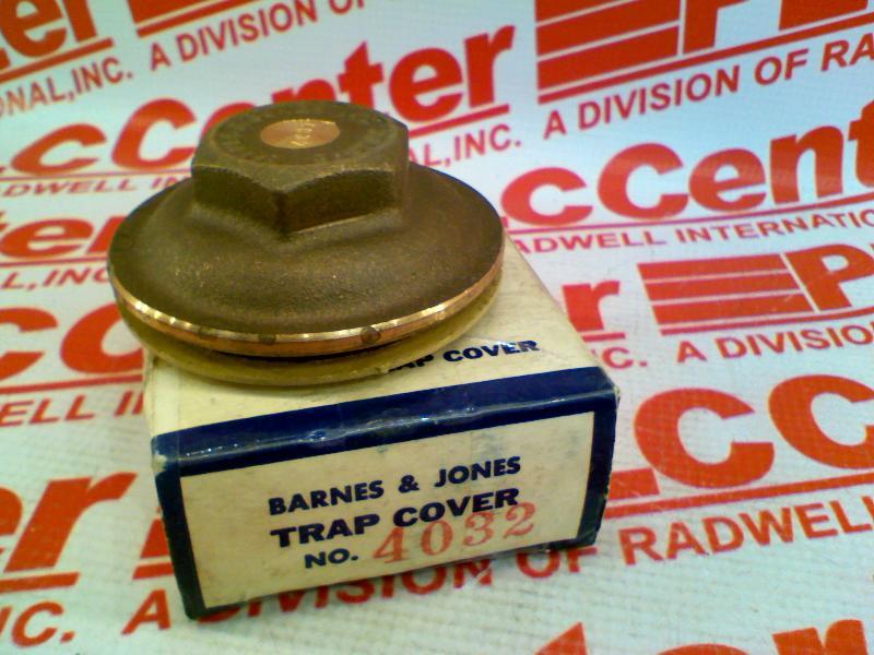 BARNES & JONES 4032-COVER