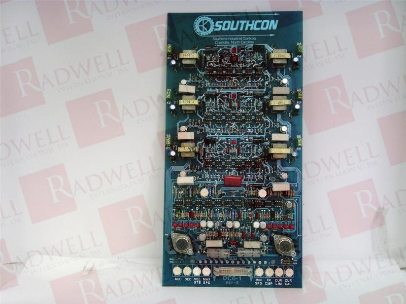 SOUTHCON IND CONTROLS DC6-1