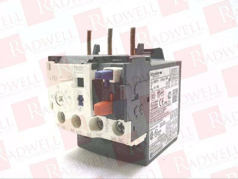 SCHNEIDER ELECTRIC LRD-21