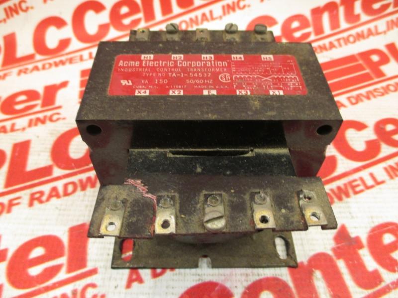 ACME ELECTRIC TA-1-54537