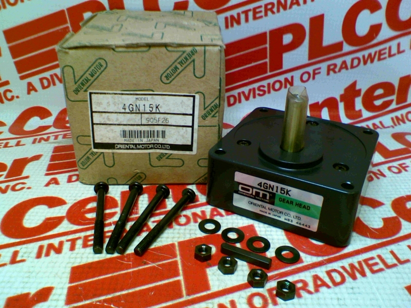 4gn15k By Oriental Motor Buy Or Repair At Radwell