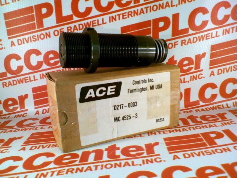 ACE CONTROLS D217-0003