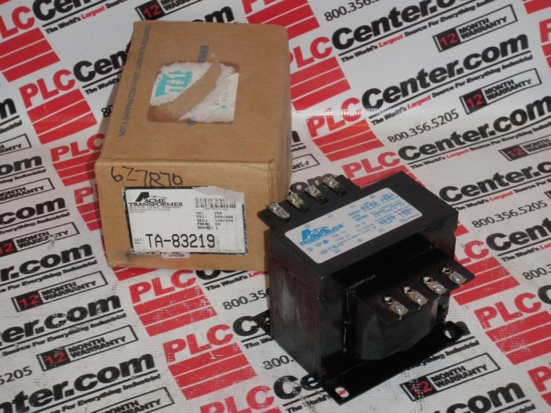 ACME ELECTRIC TA-8-3219