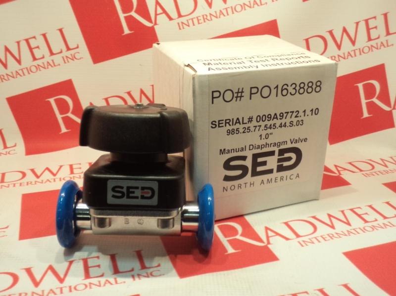 SED FLOW CONTROL 985-25-77-545-44-S-03