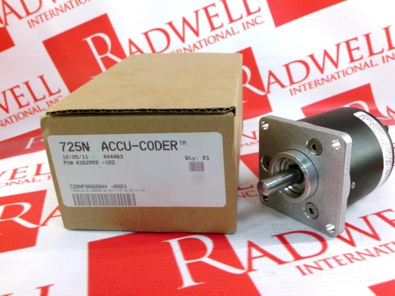 ACCU CODER 725N-S-S-0600-Q-HV-1-F-N-EY-Y-N
