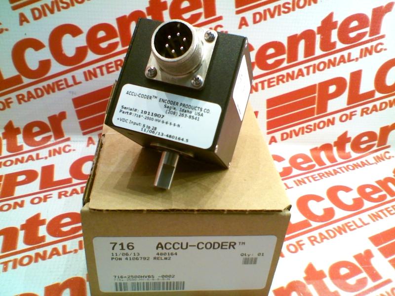 ACCU CODER 716-2500HV6S-0002